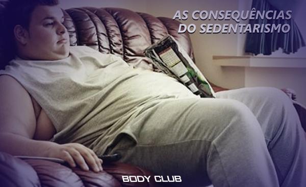 As consequências do sedentarismo